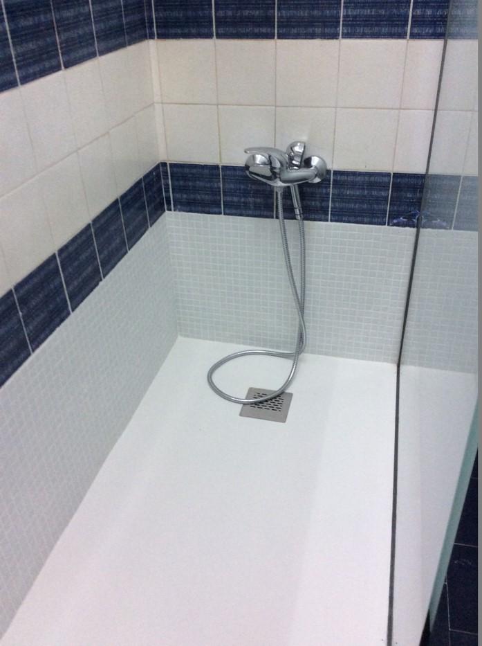 Trocar banheira por duche - depois